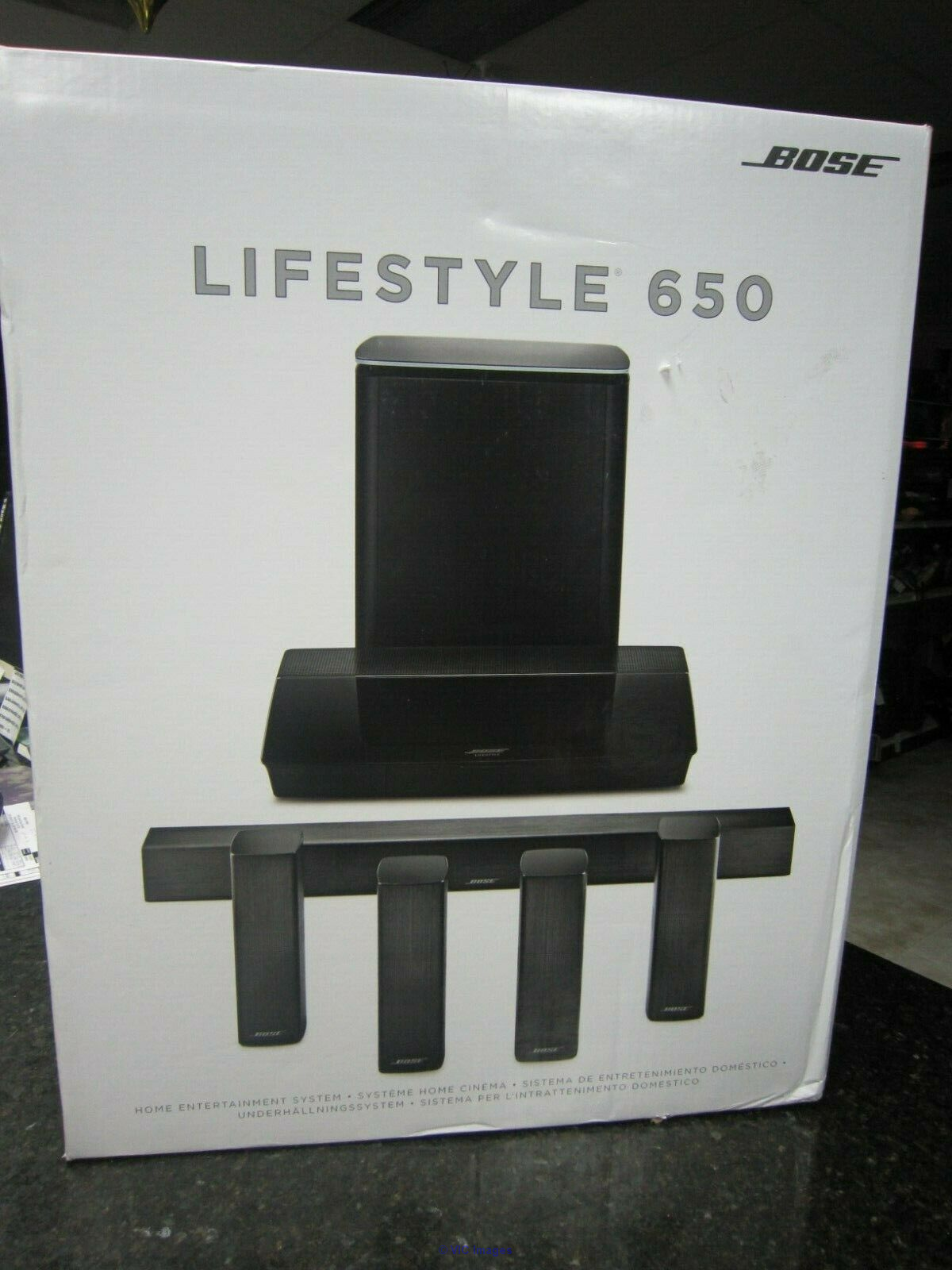 Bose Lifestyle 650 home theater system Brand New